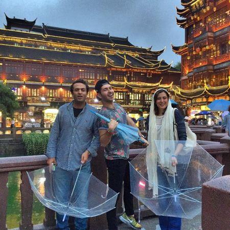 عکس های فوق العاده زیبا و جنجالی مهتاب کرامتی در چین
