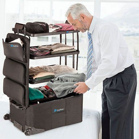 مدل های جدید و جادار چمدان مسافرتی قفسه دار