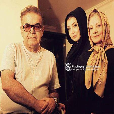 عکس های خصوصی همسر و دختر حمید لولایی