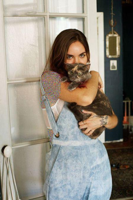 زندگی عاشقانه دختران مجرد آمریکایی با گربه های خانگی