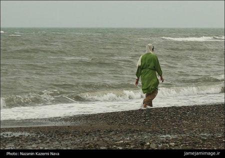 خوشگذرانی ایرانی ها در سواحل دریای خزر (عکس)