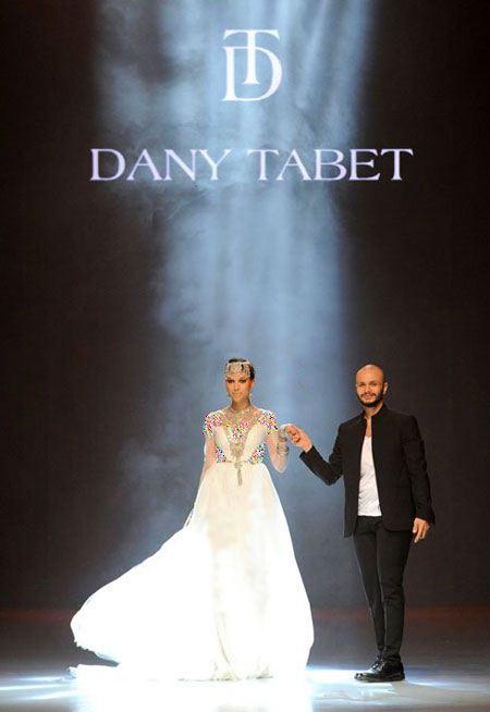 گالری عکس لباس شب لبنانی از برند دنی تبت
