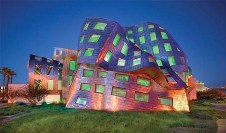 معماری شاهکار و جالب بیمارستان مغز و اعصاب لاس وگاس