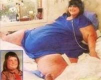 چاق ترین زن جهان با 730 کیلوگرم وزن
