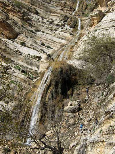 آبشار تفریحی طوف کما در شهرستان اندیکا (عکس)