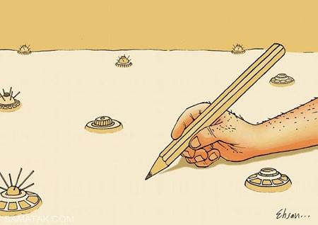کاریکاتورهای طنز و خنده دار روز خبرنگار
