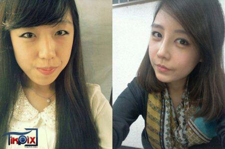 جذاب ترین دختران کره ای پس از جراحی زیبایی (عکس)