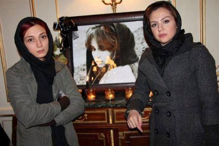 صحنه های تاسف بار از مراسم فوت ساناز کیهان