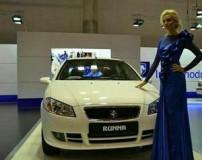 استقبال از خودروهای ایرانی در نمایشگاه ماشین روسیه