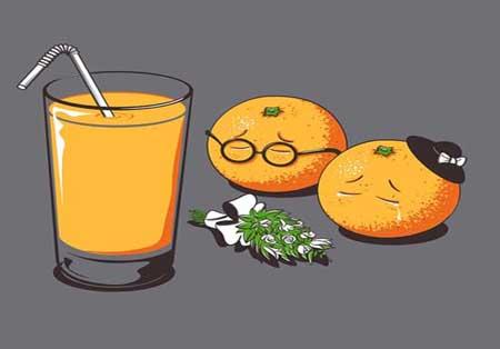 عکس های خنده دار جان بخشی به غذاها