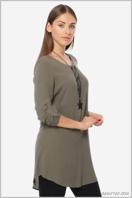 جدیدترین مدل تونیک مجلسی زنانه شیک