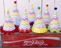 آموزش تصویری ساخت کلاه بوقی جشن تولد