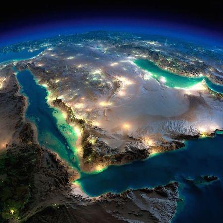 عکس های فضایی از کره زمین در شب