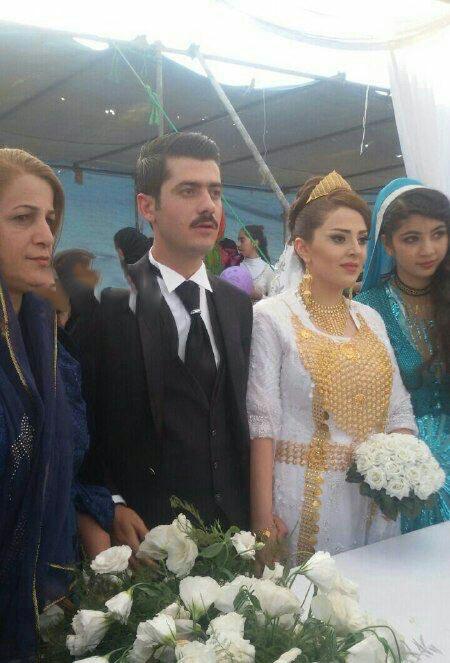 هزار مهمان در مجلل ترین مجلس عروسی غرب ایران