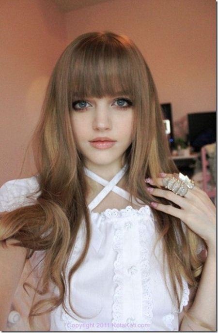 عکس های ناز از دختر باربی 16 ساله