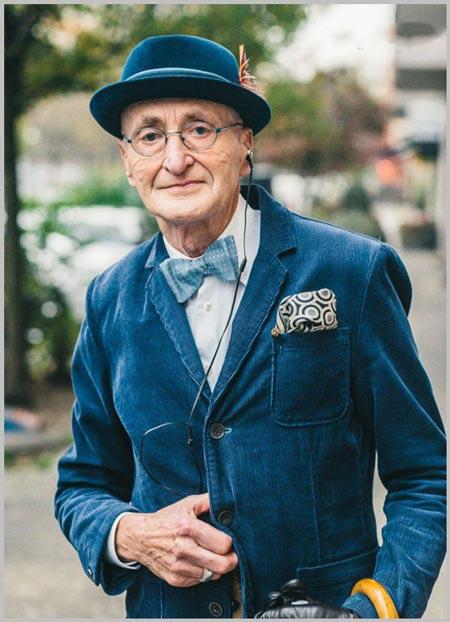 خوشتیپ ترین پیرمرد 104 ساله جهان + تصاویر
