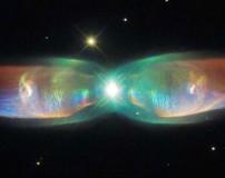 عکس جدید تلسکوپ هابل از سحابی جت دوقلو