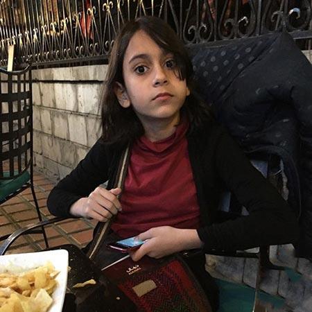 """آخرین عکس های """"پناه دخت"""" دختر خوشگل رحیم نوروزی"""
