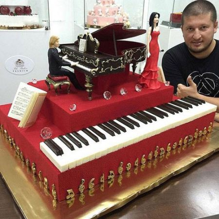 زیباترین کیک های جهان ساخته دست قناد روس (عکس)
