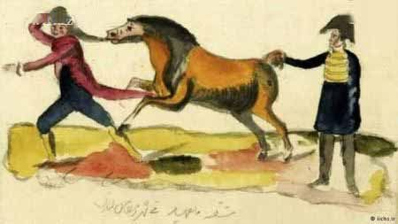 نقاشی های شاهکار دست ناصرالدین شاه از زنان حرمسرا