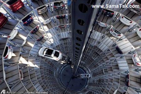 شگفت انگیز ترین برج پارکینگی BMW + تصاویر