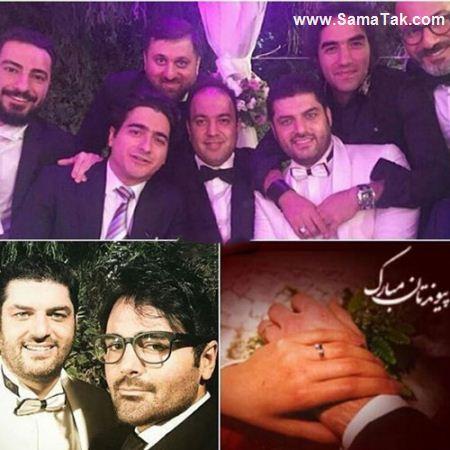 عکس های لو رفته از جشن عروسی سام درخشانی