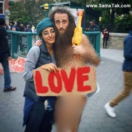 ماجرای عشق بازی گلشیفته فراهانی با هنرمند خیابانی + تصاویر
