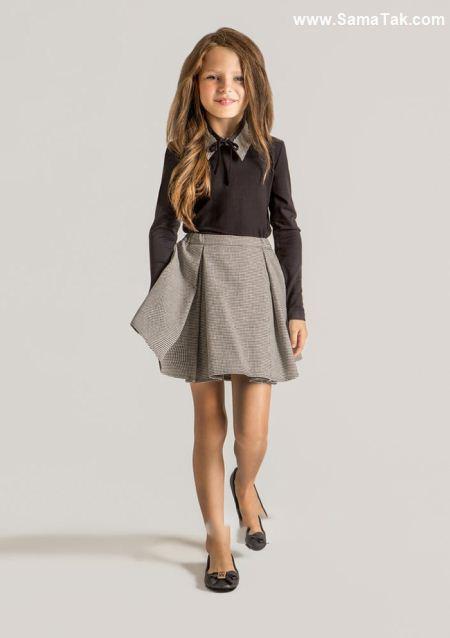شیک ترین مدل های لباس دخترانه رسمی