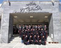 انتخاب خوشگل ترین دانشجوی دختر در دانشگاه ارومیه