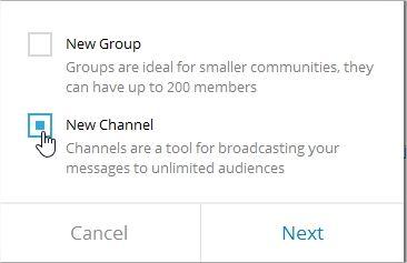 روش عضویت در کانال تلگرام