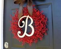 حلقه های زیبا و فانتزی برای تزیین درب ورودی