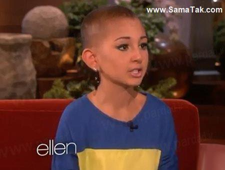 این دختر 13 ساله به خاطر میکاپ صورتش معروف شد