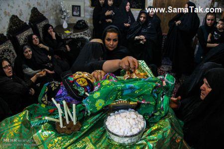 تصاویری از مجلس روضه خوانی زنانه