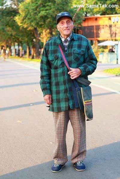 تصاویری از خوشتیپ ترین پیرزنان و پیرمردان روس