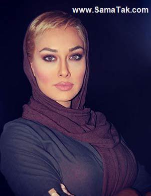 کشف حجاب صدف طاهریان در دبی + عکس