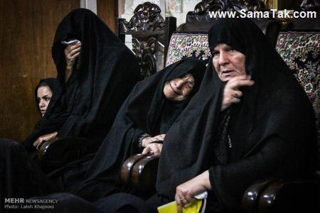 ع چاق ایرانی تصاویری از مجلس روضه خوانی زنانه