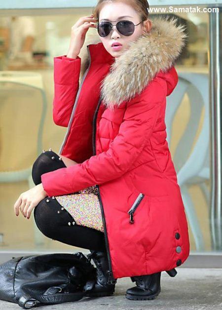 مدل کاپشن دخترانه در رنگ های متنوع