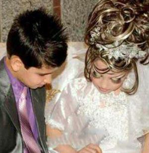 دختر 10 ساله ایرانی از شوهر 12 ساله اش باردار شد + تصاویر