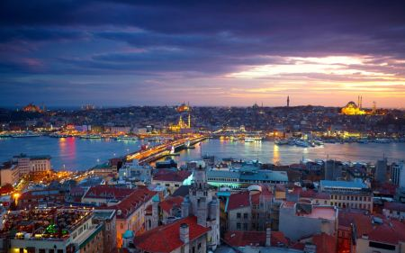 عکس های تنگه بسفر در استانبول