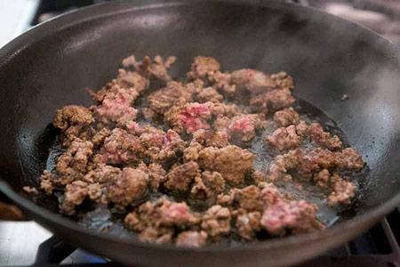 طرز تهیه همبرگر گوشت بازاری در خانه