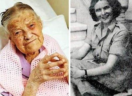 پیرترین دختر باکره با 105 سال سن + عکس