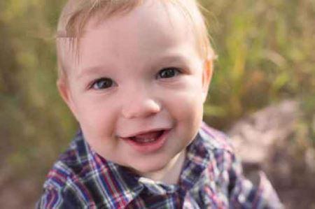 عکس های وحشتناک زامبی شدن پسر یک ساله