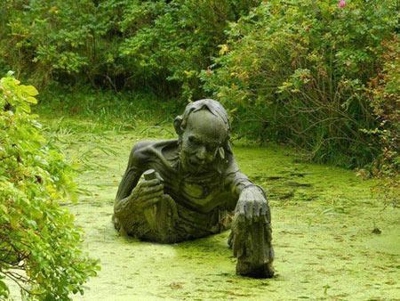 ترسناک ترین مجسمه های جهان در پارک گردشگری ایرلند