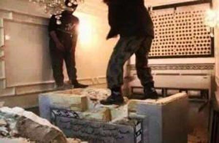 ماجرای جنجالی نبش قبر نوه امام موسی کاظم بدست داعش