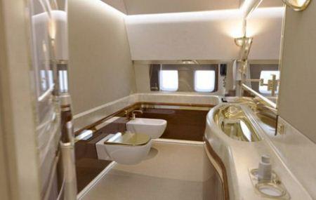 امکانات بی نظیر هواپیمای شخصی پوتین + تصاویر
