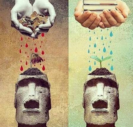 تصاویر مفهومی و بی کلام کاریکاتوری