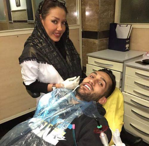 بازیکنان فوتبال ایران علاقه زیادی به این خانم دندانپزشک دارند