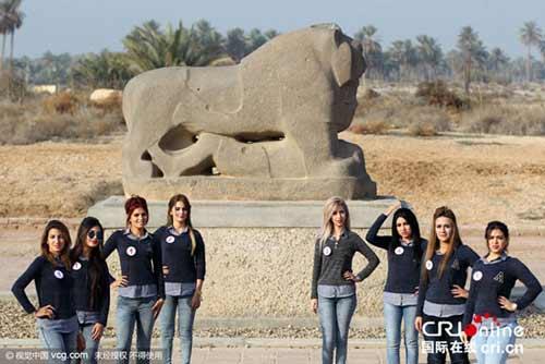 فستیوال انتخاب زیباترین دختر جذاب عراقی + تصاویر