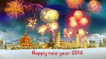 کارت تبریک سال نو میلادی