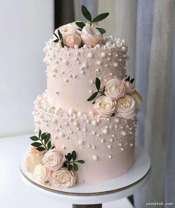 زیباترین مدل های کیک عروسی رنگ آبی برای سال 2020